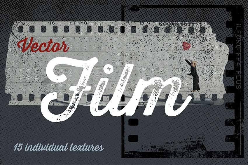 Vector Film Grain Textures