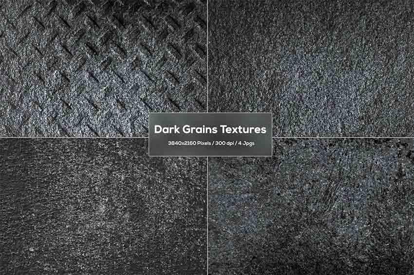 Dark Grain Effect Textures