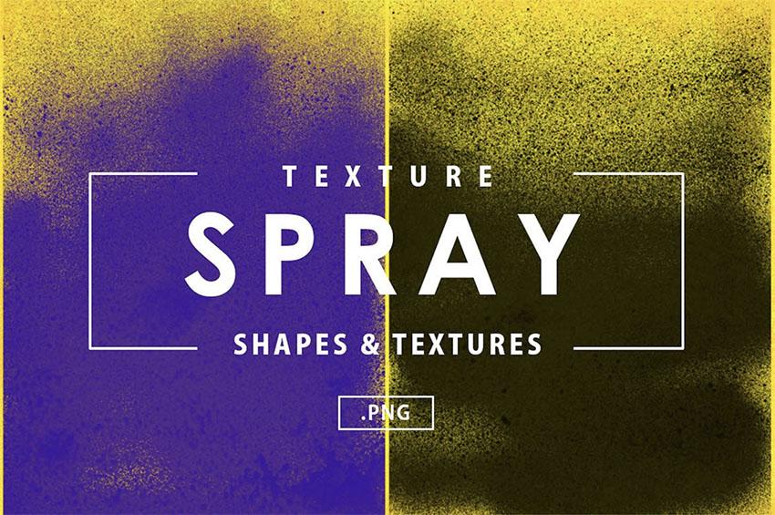 12 Spray Textures
