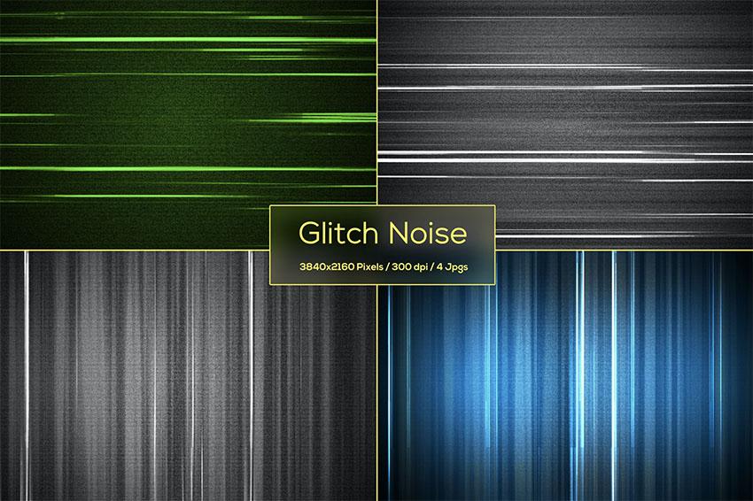 Glitch Noise Backgrounds