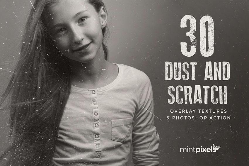 30 Dust  Scratch Noise Filter Photoshop