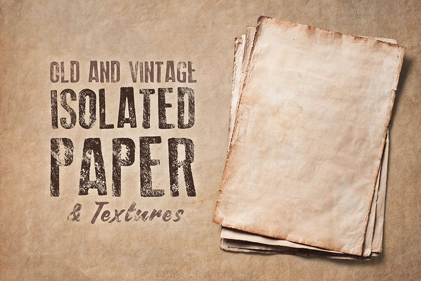 Old Photo Textures  Old Newspaper Textures