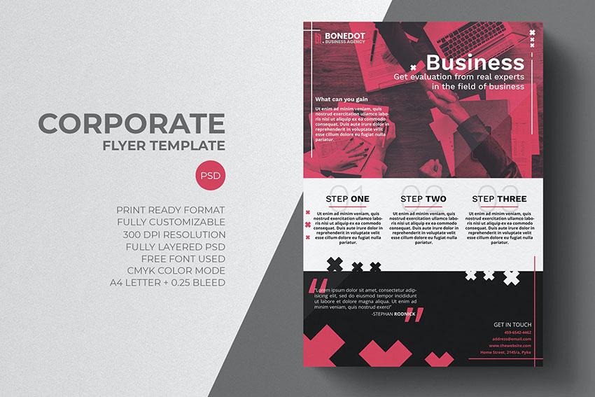 Corporate Photoshop Flyer Template
