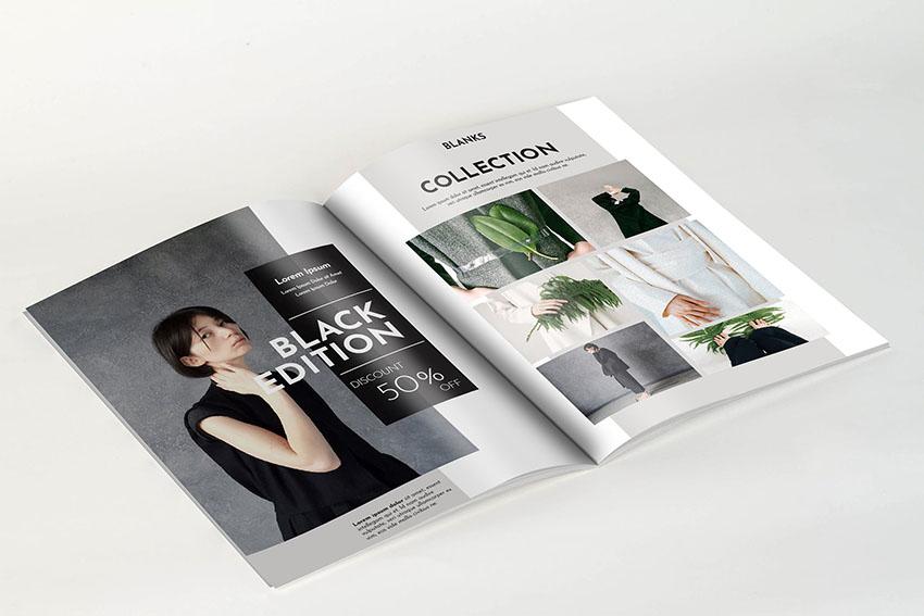 A4 Photoshop Magazine Template
