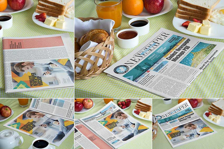 Newspaper Template Photoshop