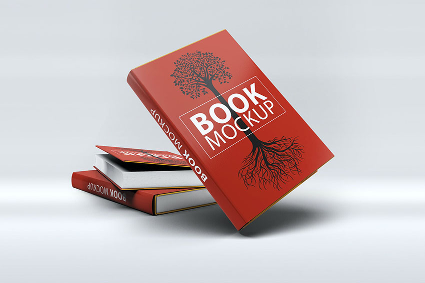 Photoshop Book Template Mock-Up