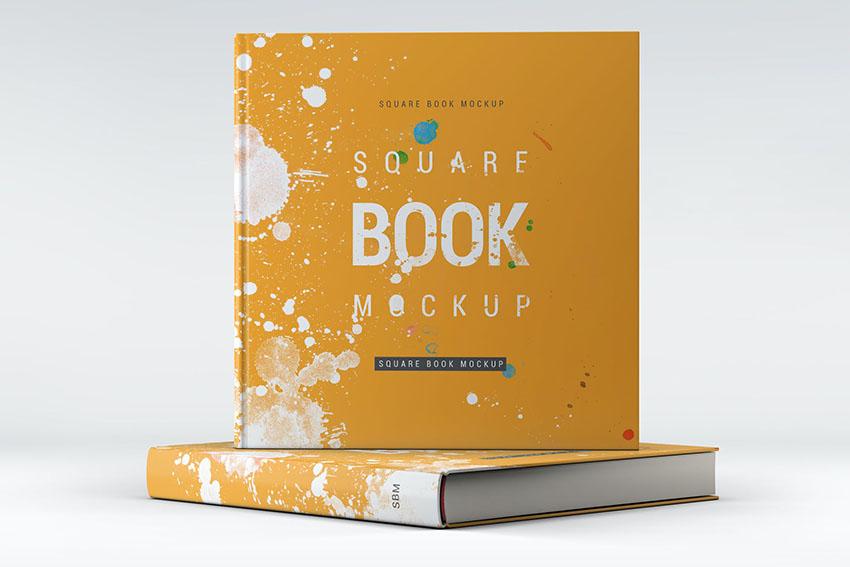 Square Photoshop Book Template