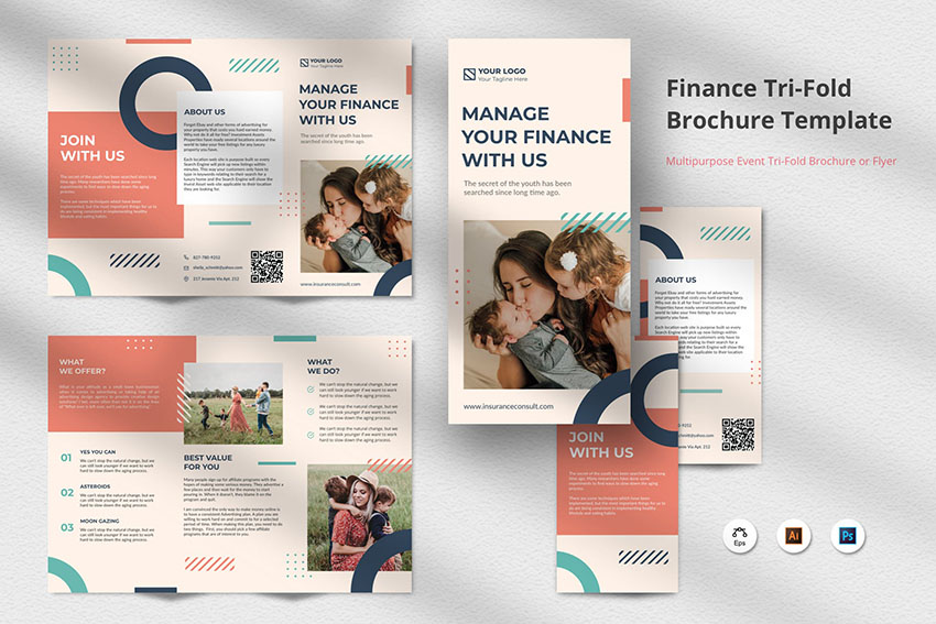 Photoshop Trifold Template