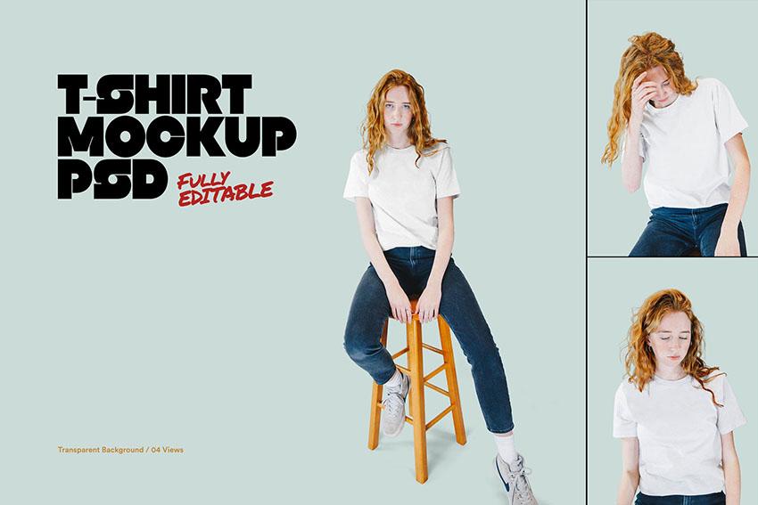 T-Shirt Template Photoshop