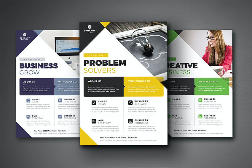 Business Photoshop Flyer Template