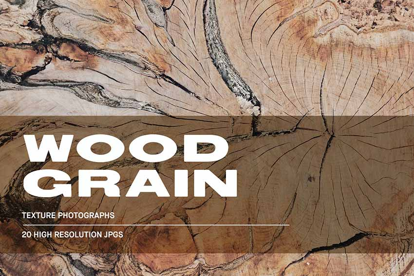20 Wood Grain Texture Photoshop