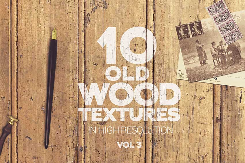 Old Wood Textures Vol 3 x10