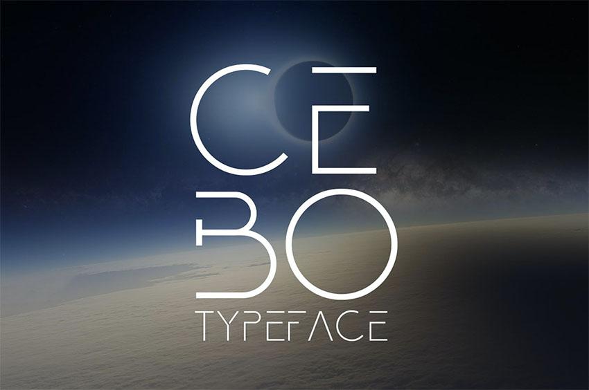 Cebo Minimalist San Serif Font
