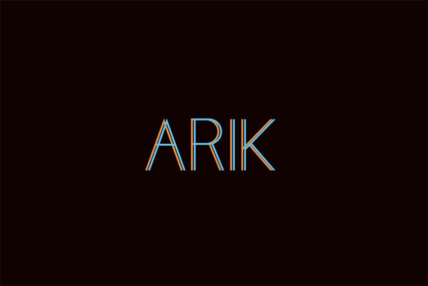 Arik - Modern San Serif Font