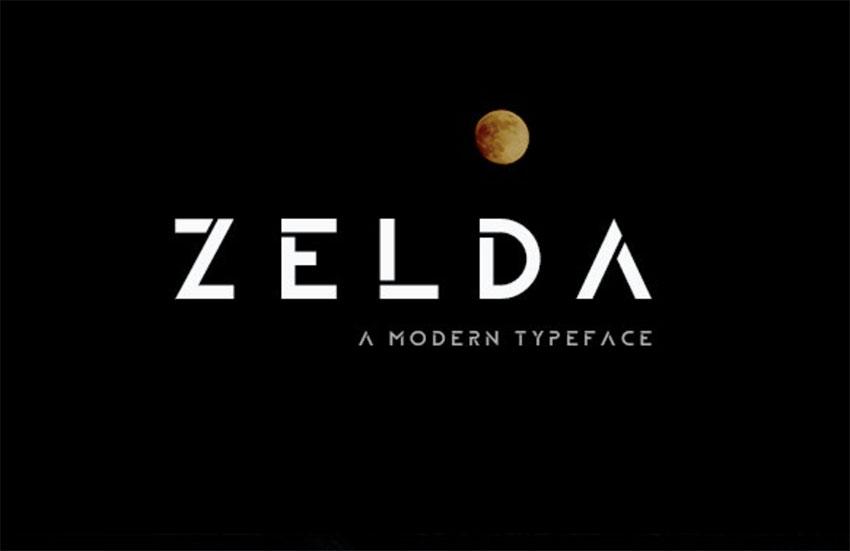 ZELDA Typefamily