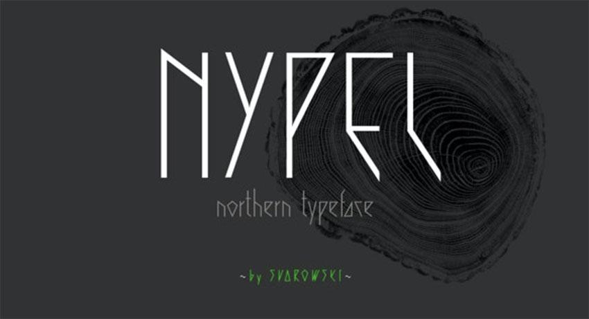 Nypel - Minimalistic Text Font