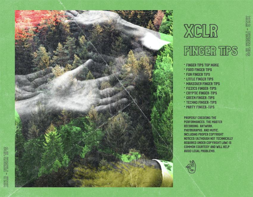 Folk Album CD Album Back Cover Template