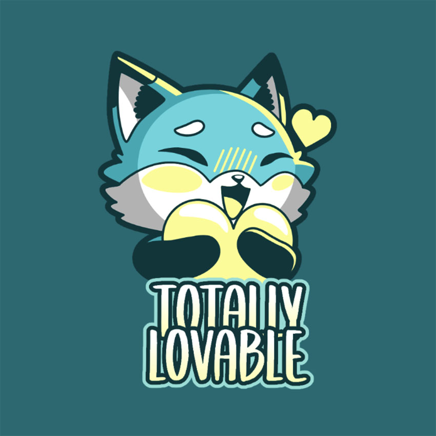 Cute Twitch Emote Featuring a Cute Fox