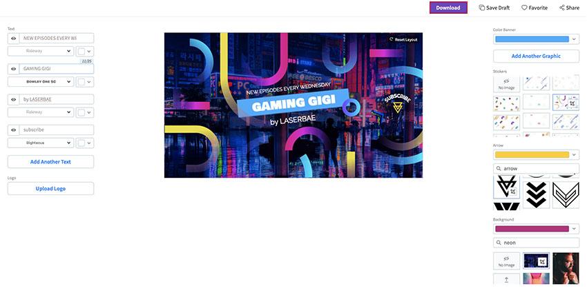 Image of GamingYouTubeBanner08