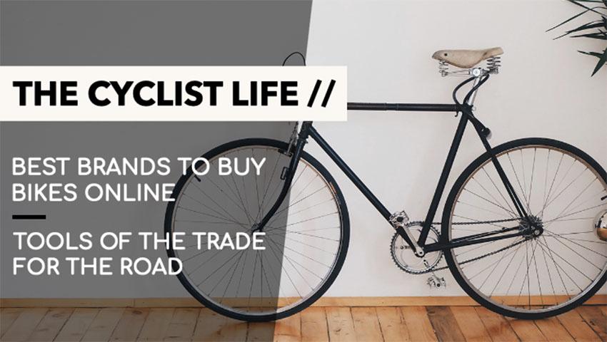 YouTube Thumbnail Maker for a Cycling Vlog