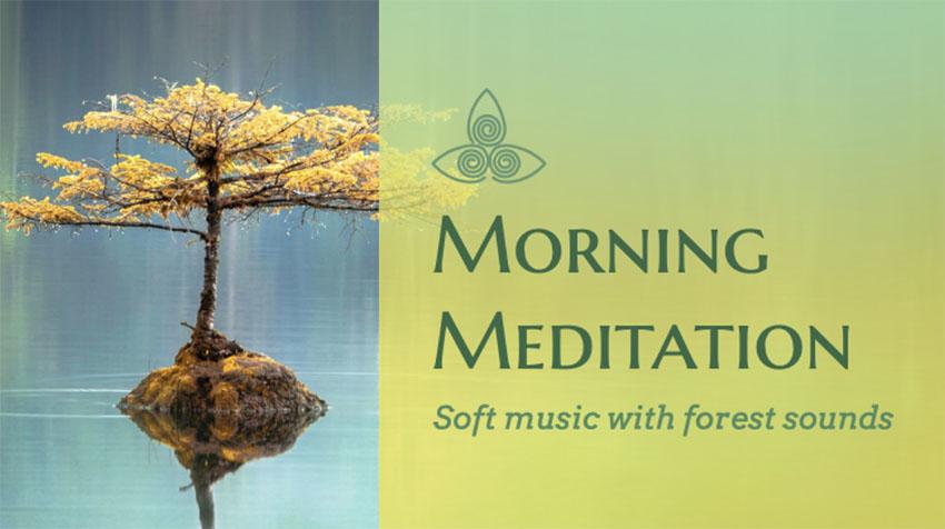 YouTube Thumbnail Creator for a Soft Meditation Music Playlist