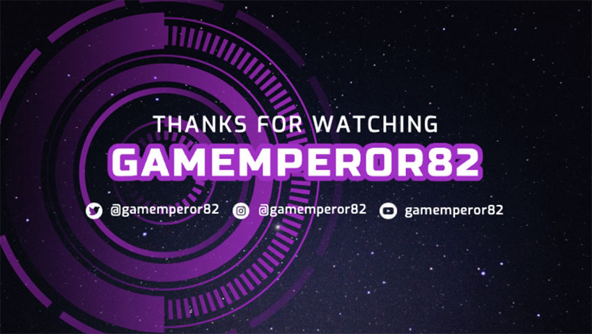 Twitch Offline Banner Size with Futuristic Layout