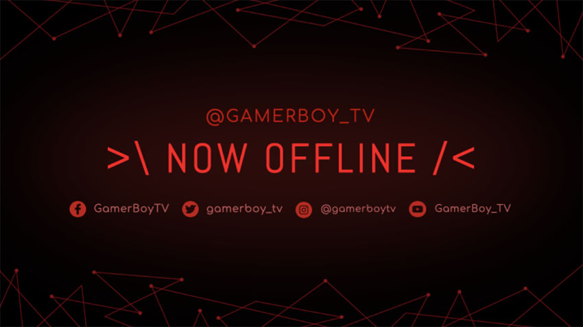Abstract Twitch Offline Screen Size