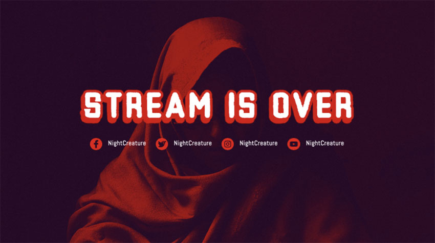 Twitch Offline Banner Maker for Gaming Channel