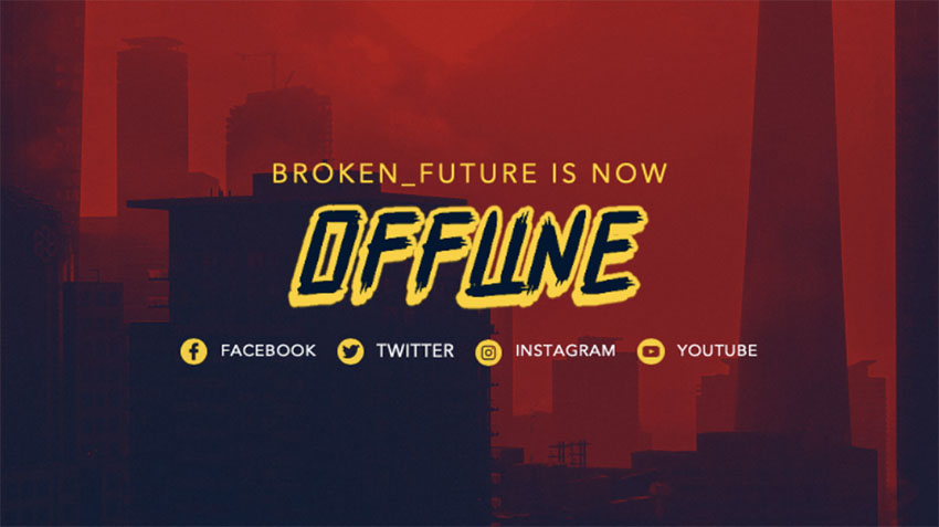 Offline Picture Twitch for Gaming Channel