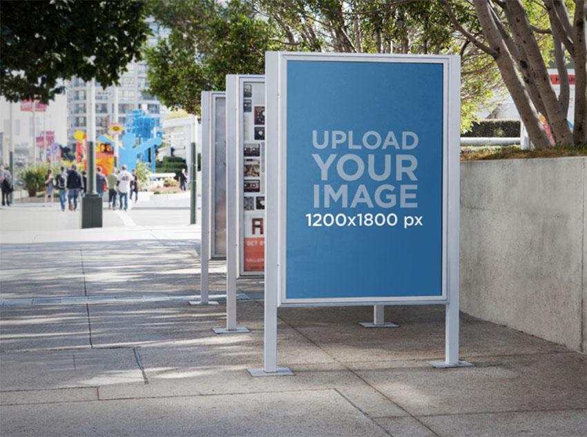 Street Billboard Mockups