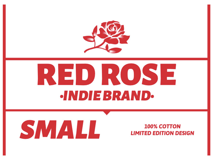 Clothing Label Design for Indie Brand