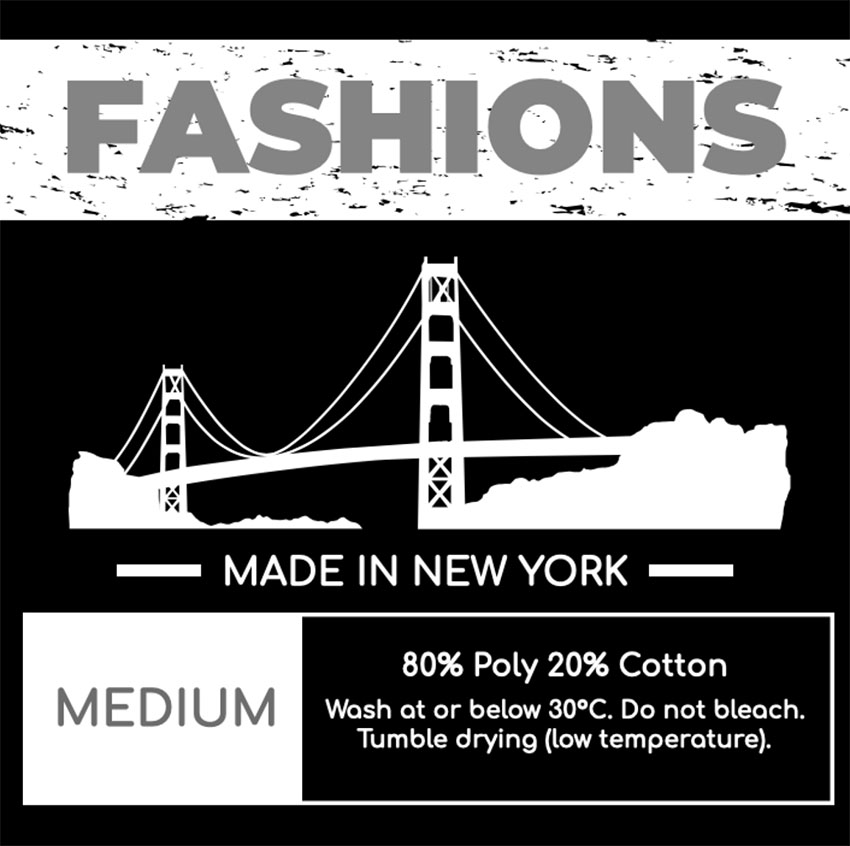 Fashion Shirt Label