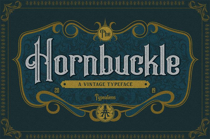 Hornbuckle   Art Nouveau Lettering Styles