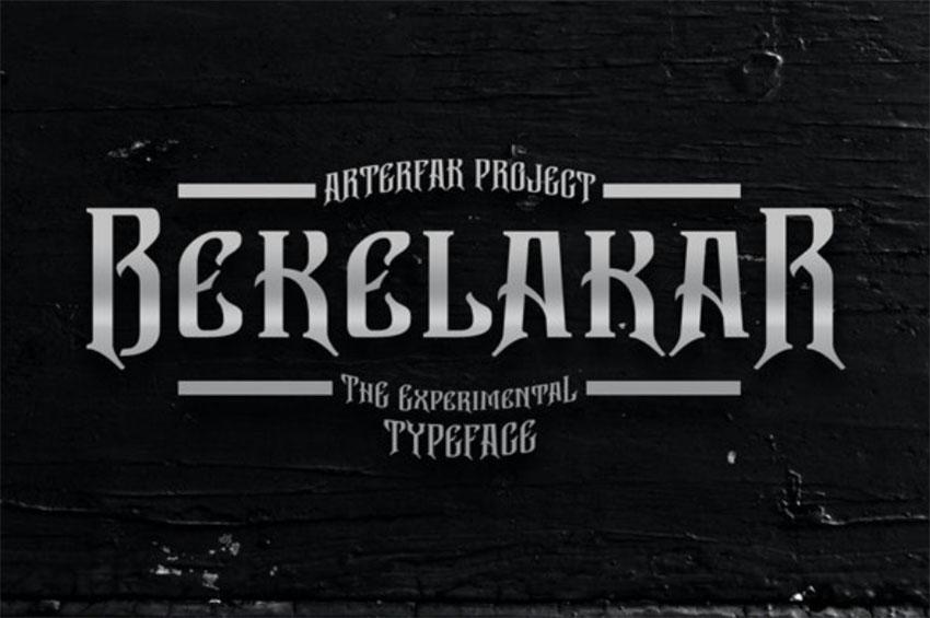 Bekelakar - Art Nouveau Lettering Styles