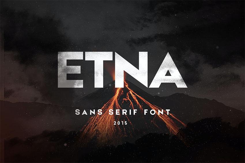 Etna Sans Serif