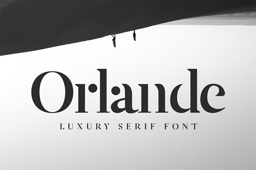 Orlande - Luxury Serif Font