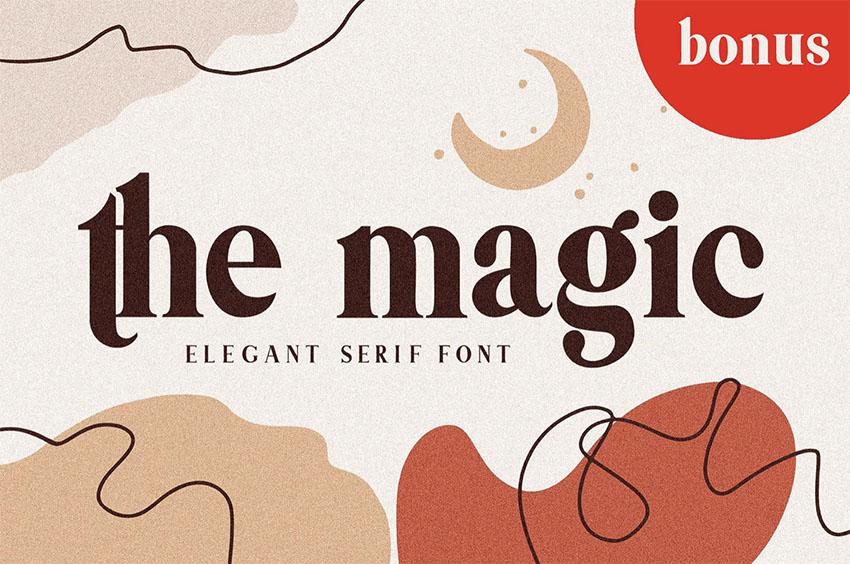 Themagic Serif Font