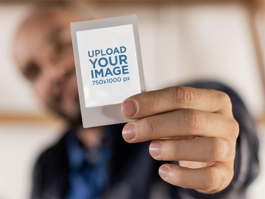 Polaroid Mockup Template