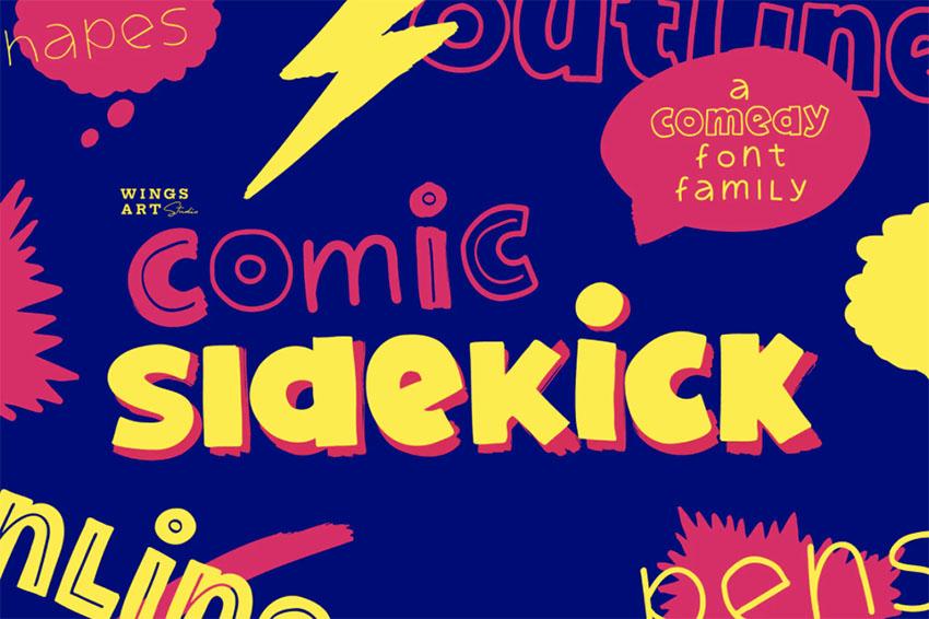 Comic Typeface