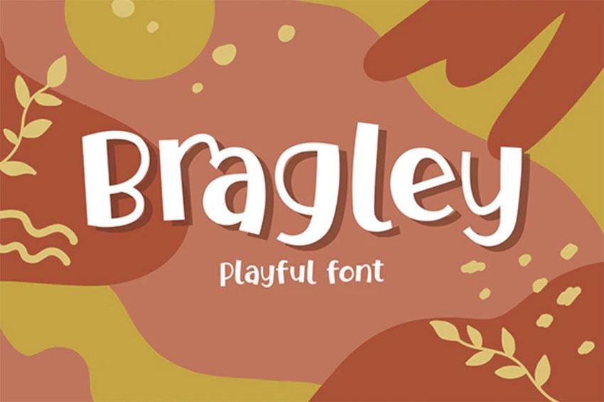 Bragley Old Comic Book Font