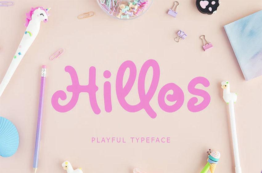 Hillos Comic Letters