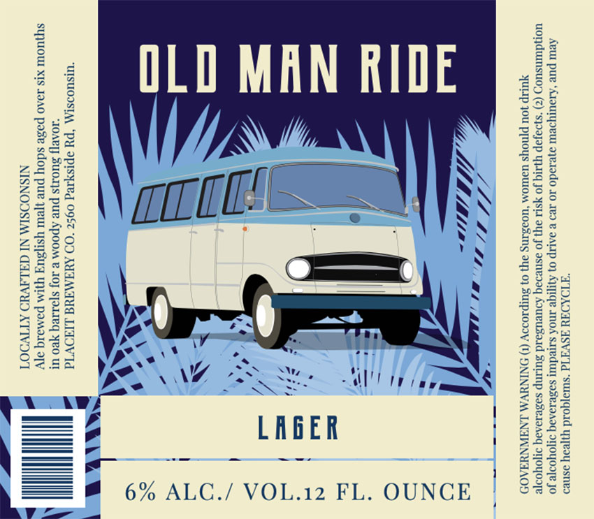 Vintage Homebrew Beer Labels