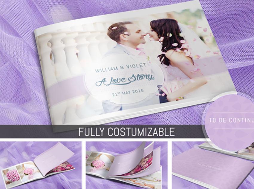 Wedding Photo Album Template