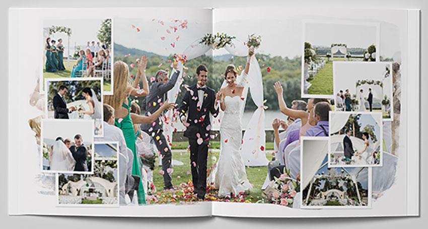 Wedding Photobook Template