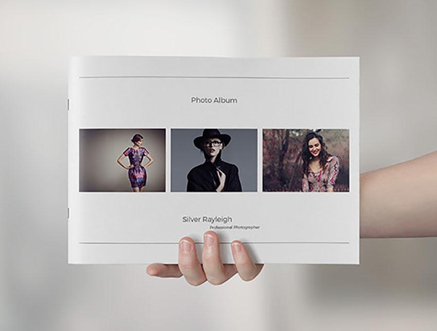Simple Photo Album Template