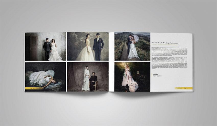 Portfolio Photo Album Template