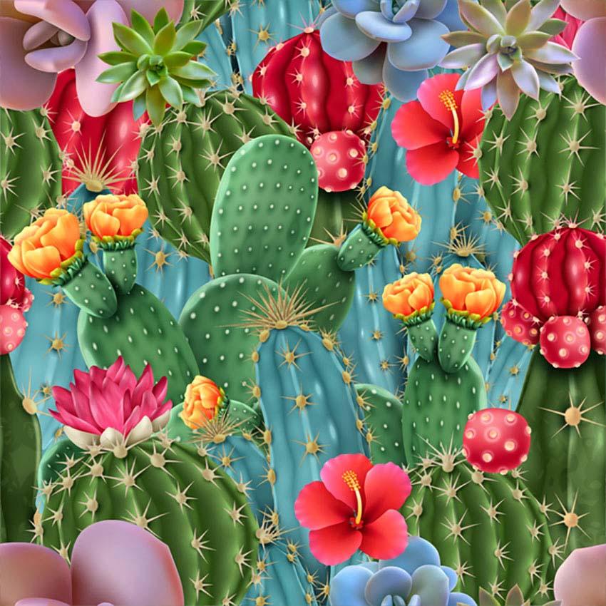 Cacti Plant Illustration