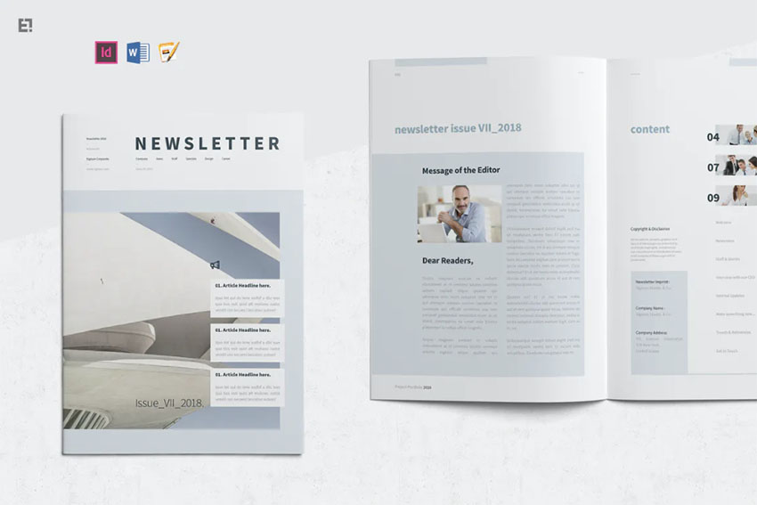 Real Estate Newsletter Idea