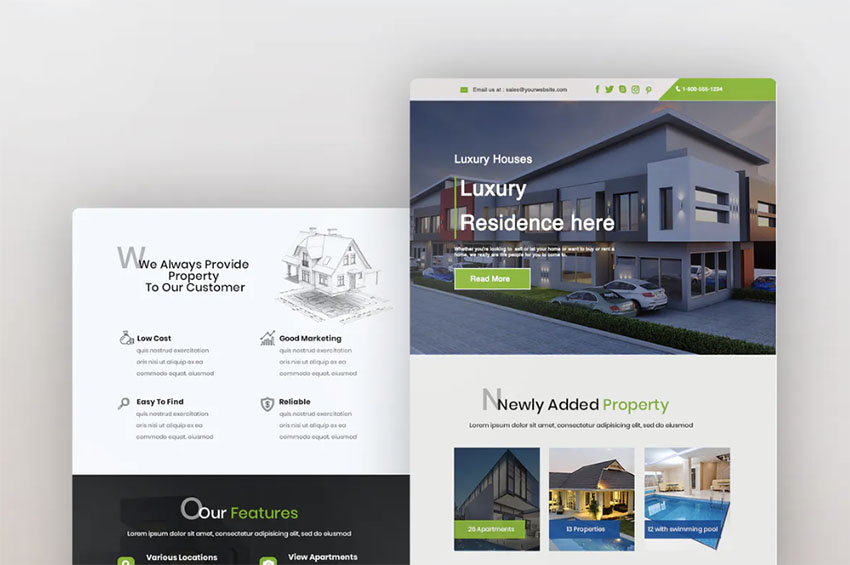 Best Real Estate Newsletter Templates
