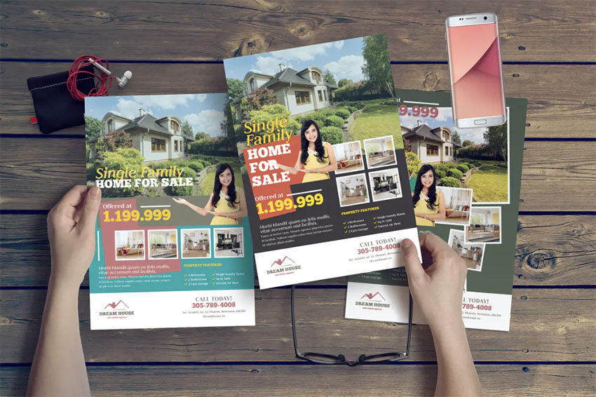 Real Estate Monthly Newsletter Templates